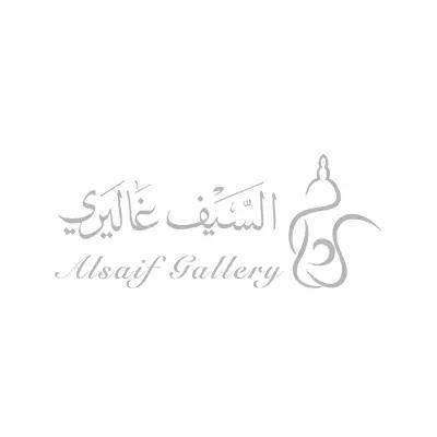 طقم فناجين قهوة عربي كرستال بخط فضي 6 حبات